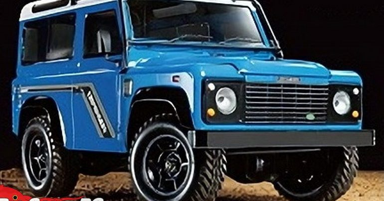 Tamiya Land Rover Defender 90 with CC-02S Chassis