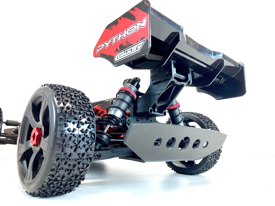 TBR Front & Rear Bumpes For The Team Corally Python Buggy