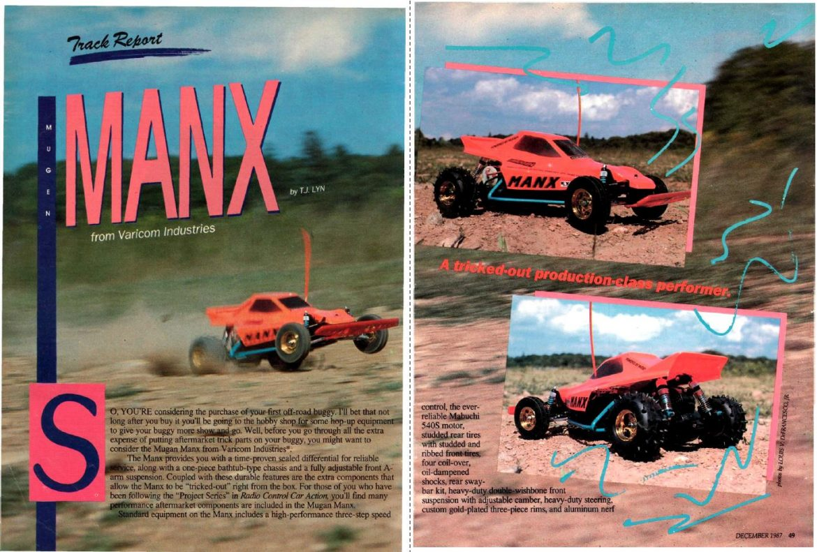 #TBT Mugen's 2WD Off-Road Buggy – Manx Review