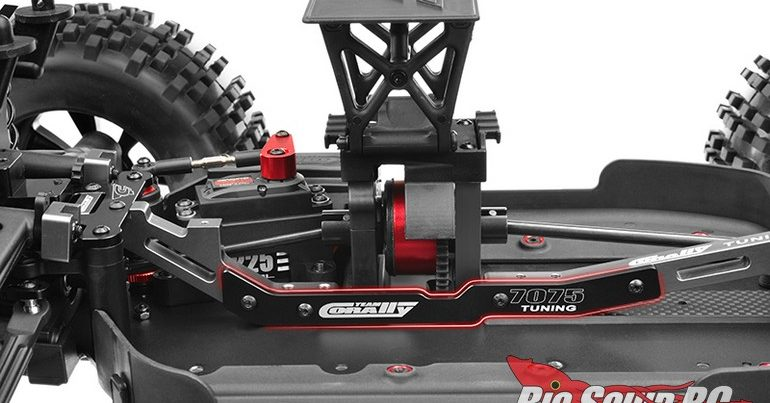 Team Corally XTR Center Chassis Stiffener for the Kronos XTR