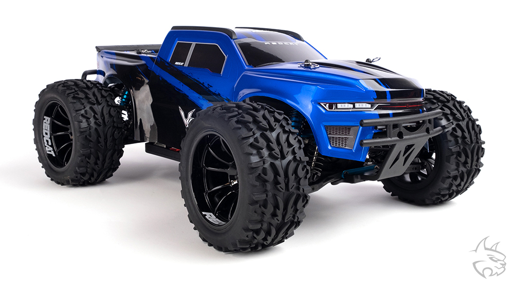 The Redcat Volcano EPX Pro 1:10 scale RTR Monster Truck gets a complete makeover.