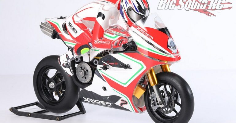 X-Rider Announces 7th Anniversary 1/8 Saturn ARR RC Motorcycle