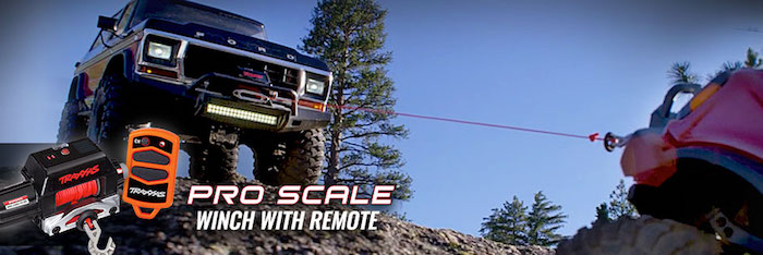 Traxxas: Pro Scale Winch Video with TRX-4 Ford Broncos
